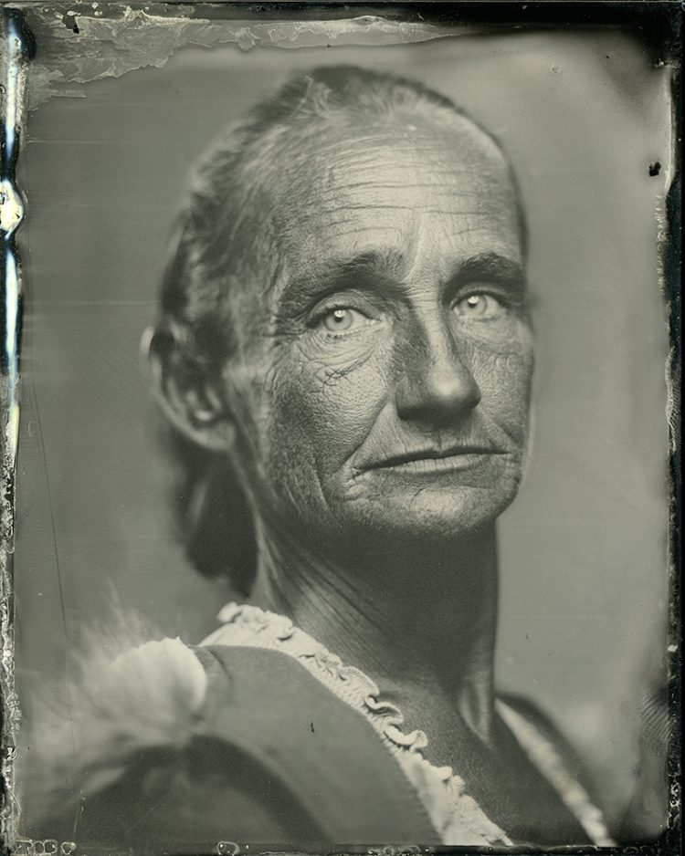 Rejeanna Loper Tintype Portrait by Michael Foster