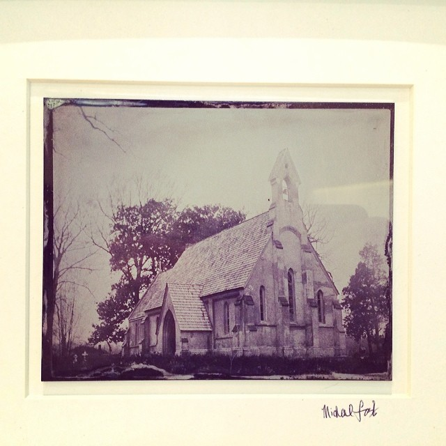 Michael Foster Church Photo Tintype Mississippi